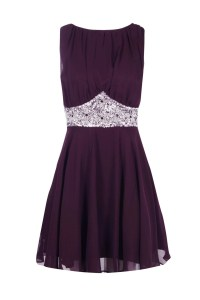 Boohoo Boutique Asha Embellished Prom Dress in Purple | Lyst