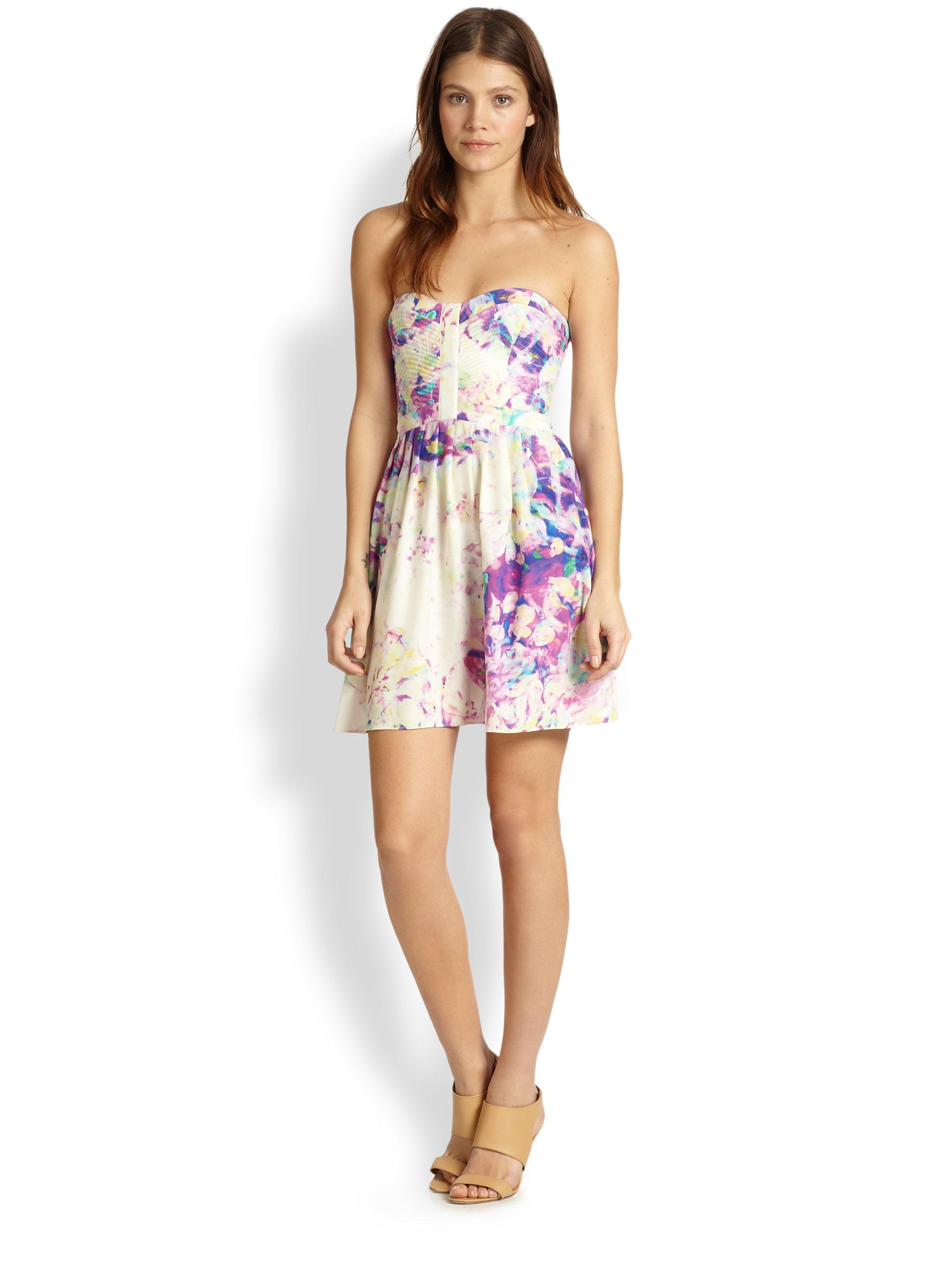 macy s floral print dresses