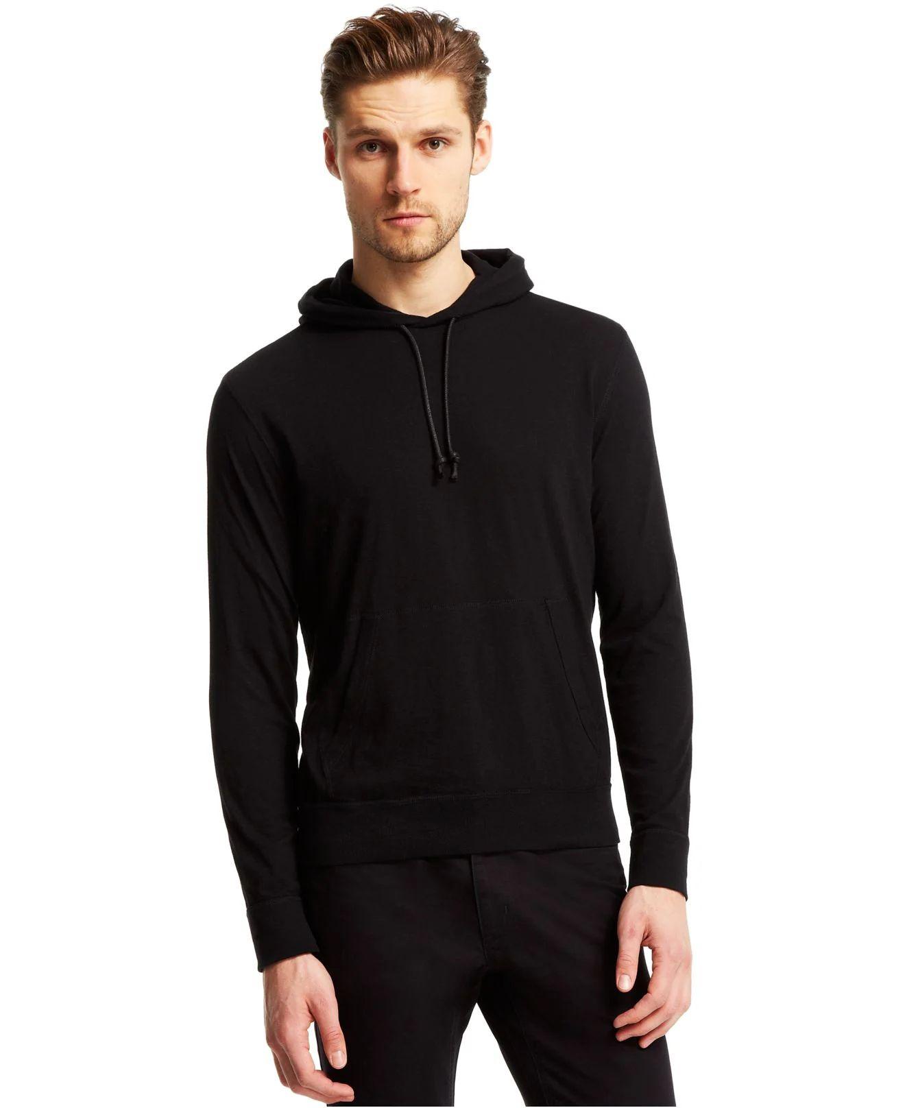 Black t shirt hoodie