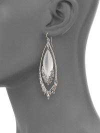 Alexis bittar Glacial Crystal Orbital Lucite Drop Earrings ...