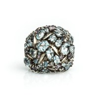 Alexis bittar Cool Heather Marquis Cluster Dome Ring You ...