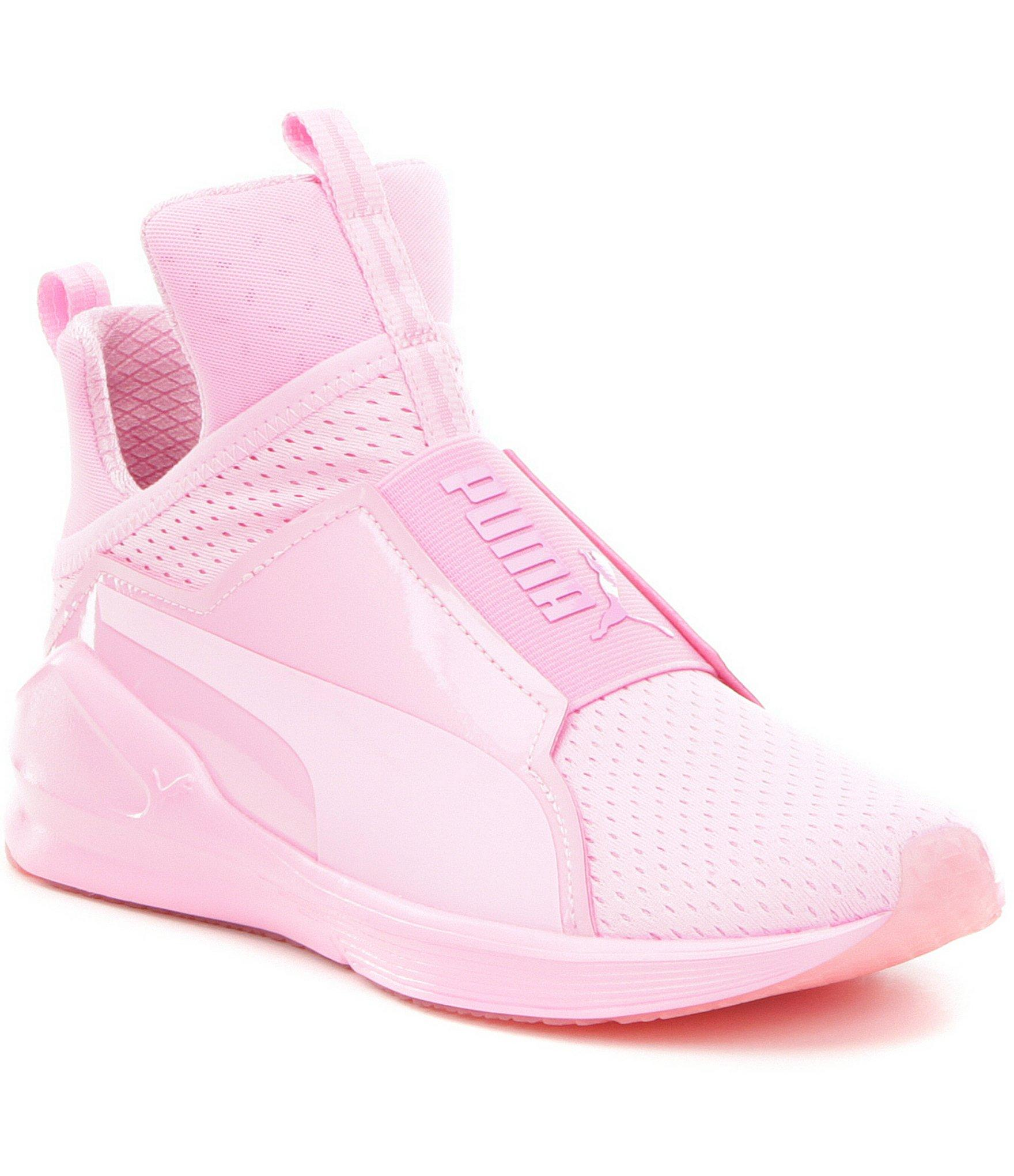 Nike Juvenate Puma Fierce Bright Mesh Sneakers In Pink - Lyst