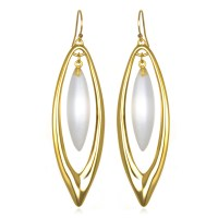 Alexis bittar Marquis Orbital Wire Drop Earrings in Gold ...
