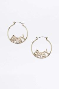 Baby Hoop Earrings Spectacular Deal On Jennifer Fisher 1 5 ...