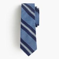 J.crew Grenadine Silk Tie In Blue Stripe in Blue for Men ...