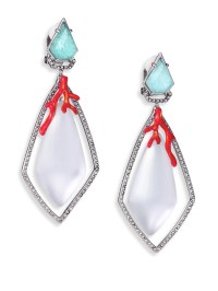 Alexis bittar Coral Deco Lucite, Amazonite, Crystal ...