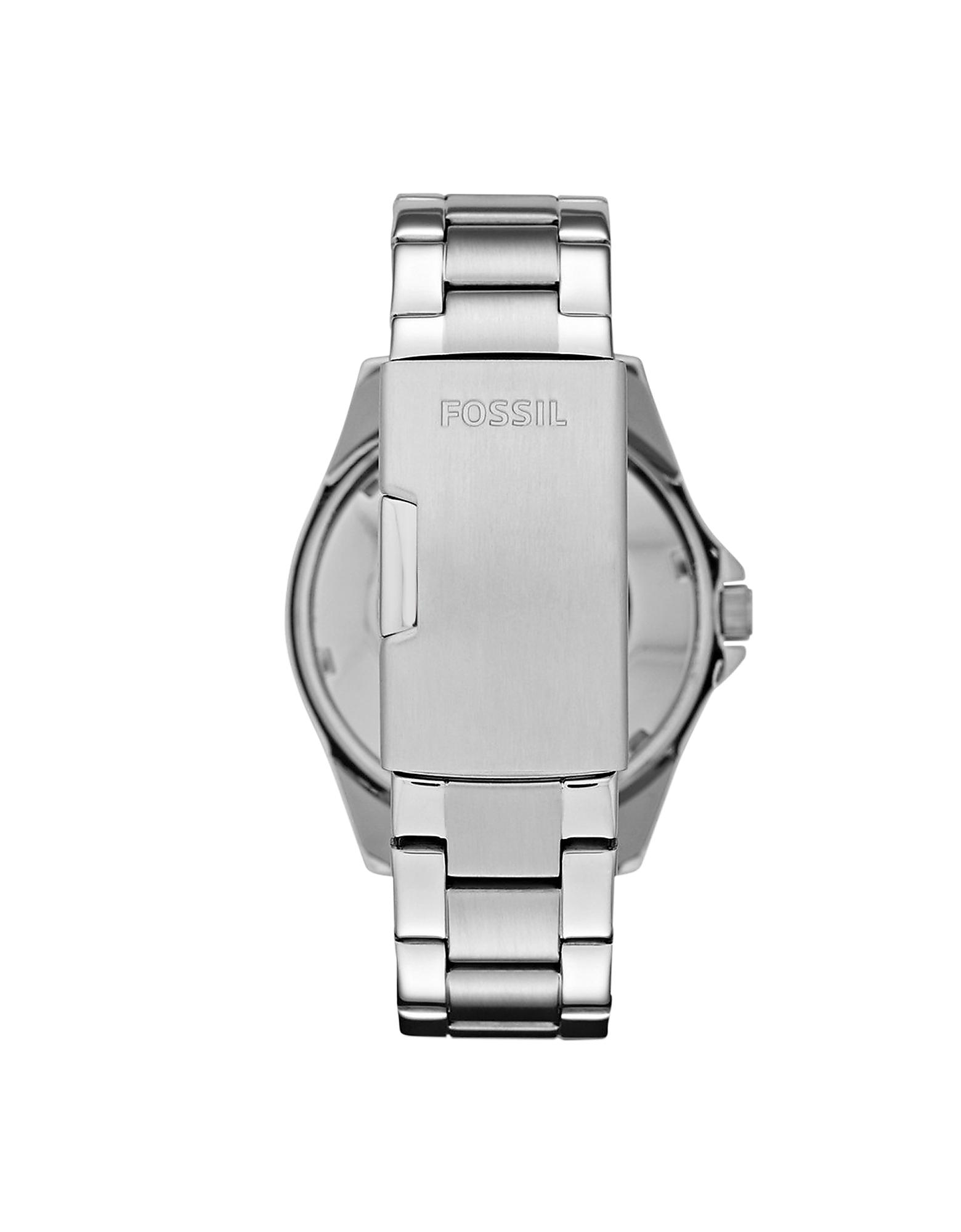Fossil Riley Lyst Fossil Riley Multifunction Silver Stainless Steel Women S