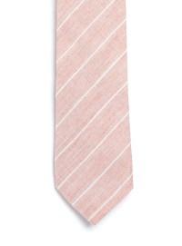 Lyst - Topman Stripe Cotton Tie in Pink for Men