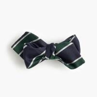 J.crew English Silk Repp Bow Tie in Blue for Men | Lyst