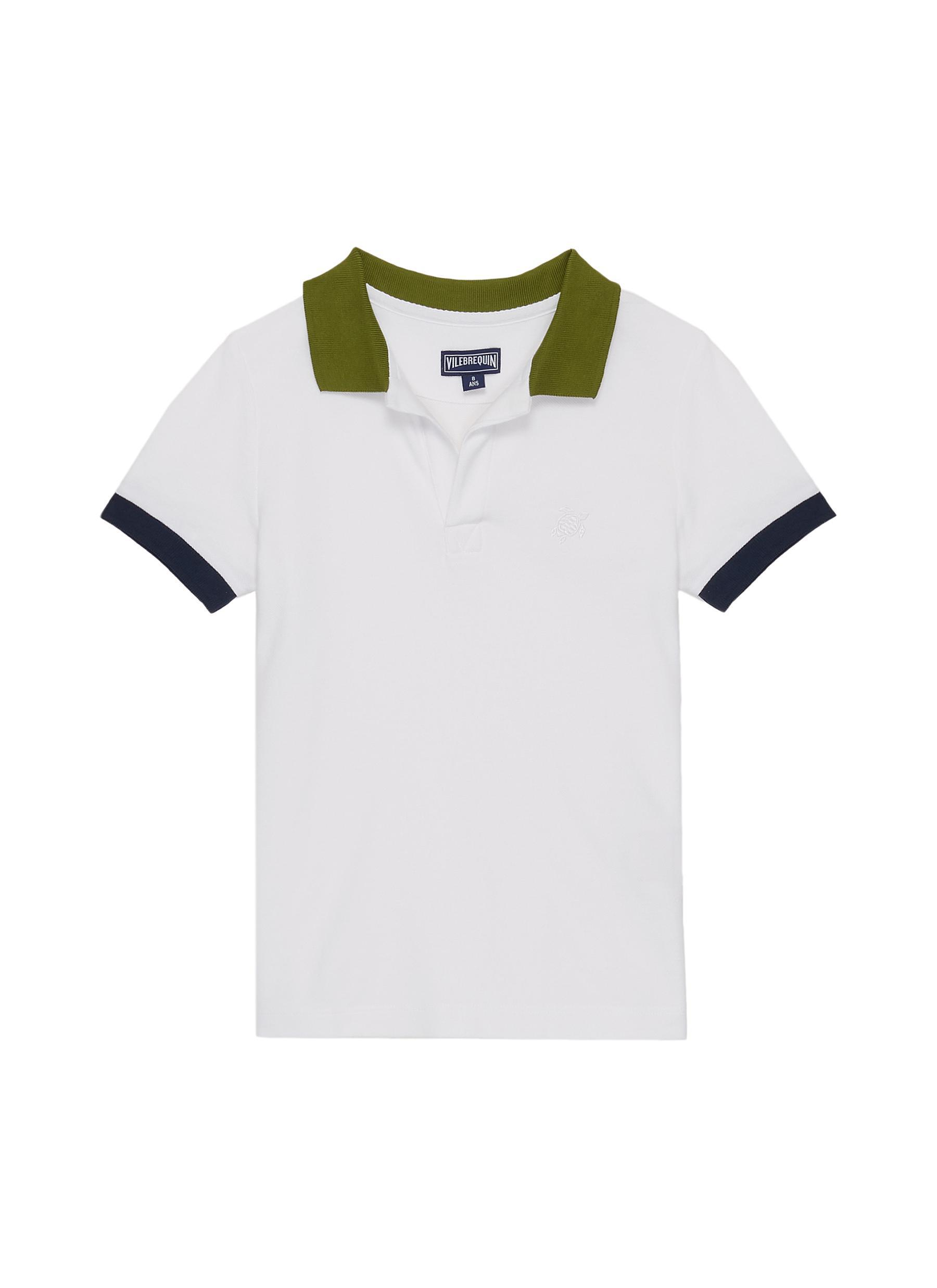 Vilebrequin Boys Cotton Pique Polo Shirts Multicolor Boys Clothing Tops T Shirts Shirts