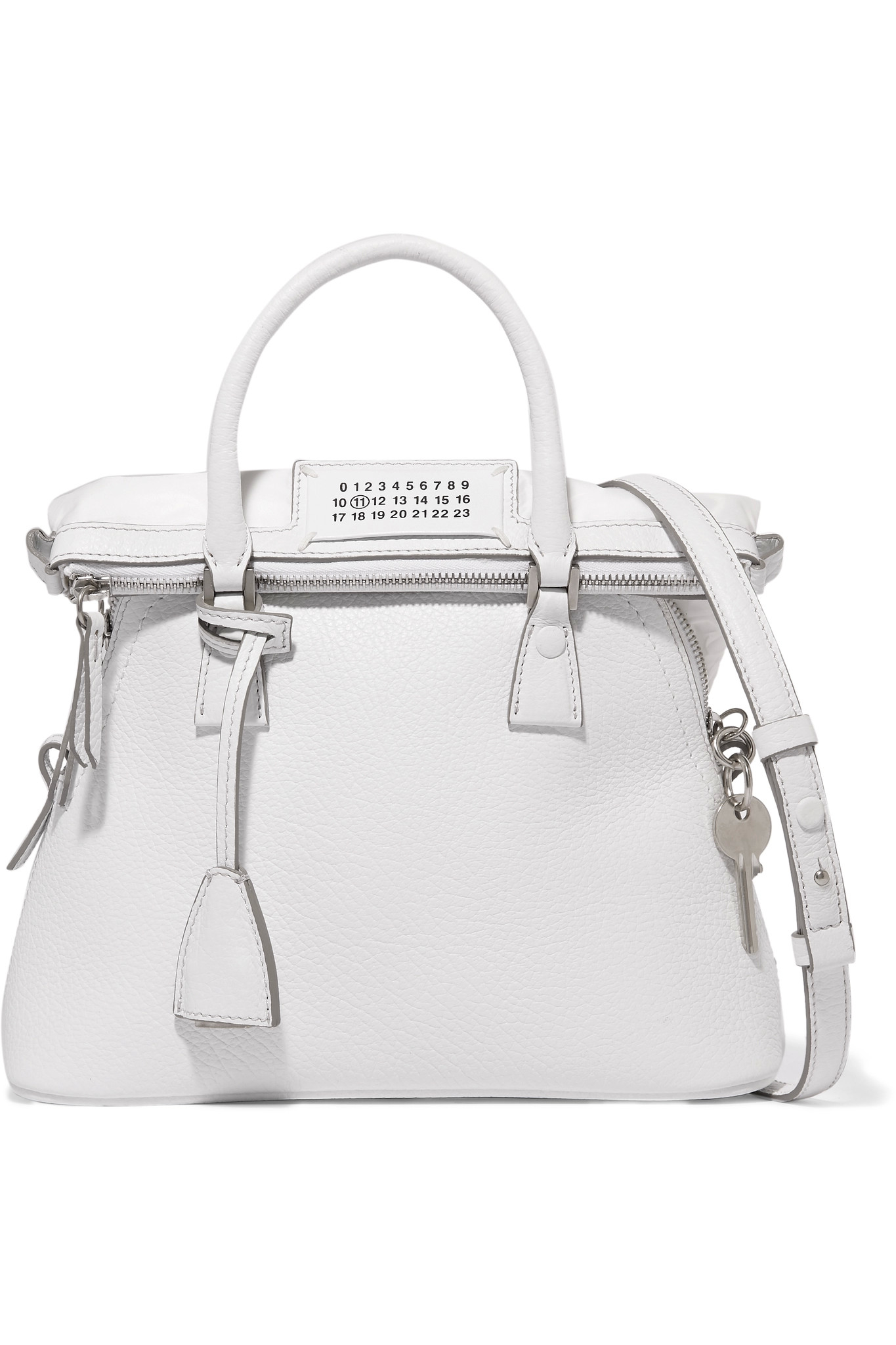 Baby Bags Durban Maison Margiela 5ac Baby Textured Leather Tote In White Lyst
