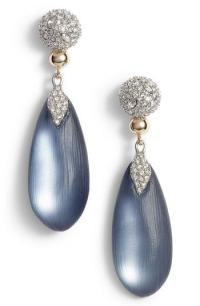 Lyst - Alexis Bittar Crystal Encrusted Lucite Drop ...