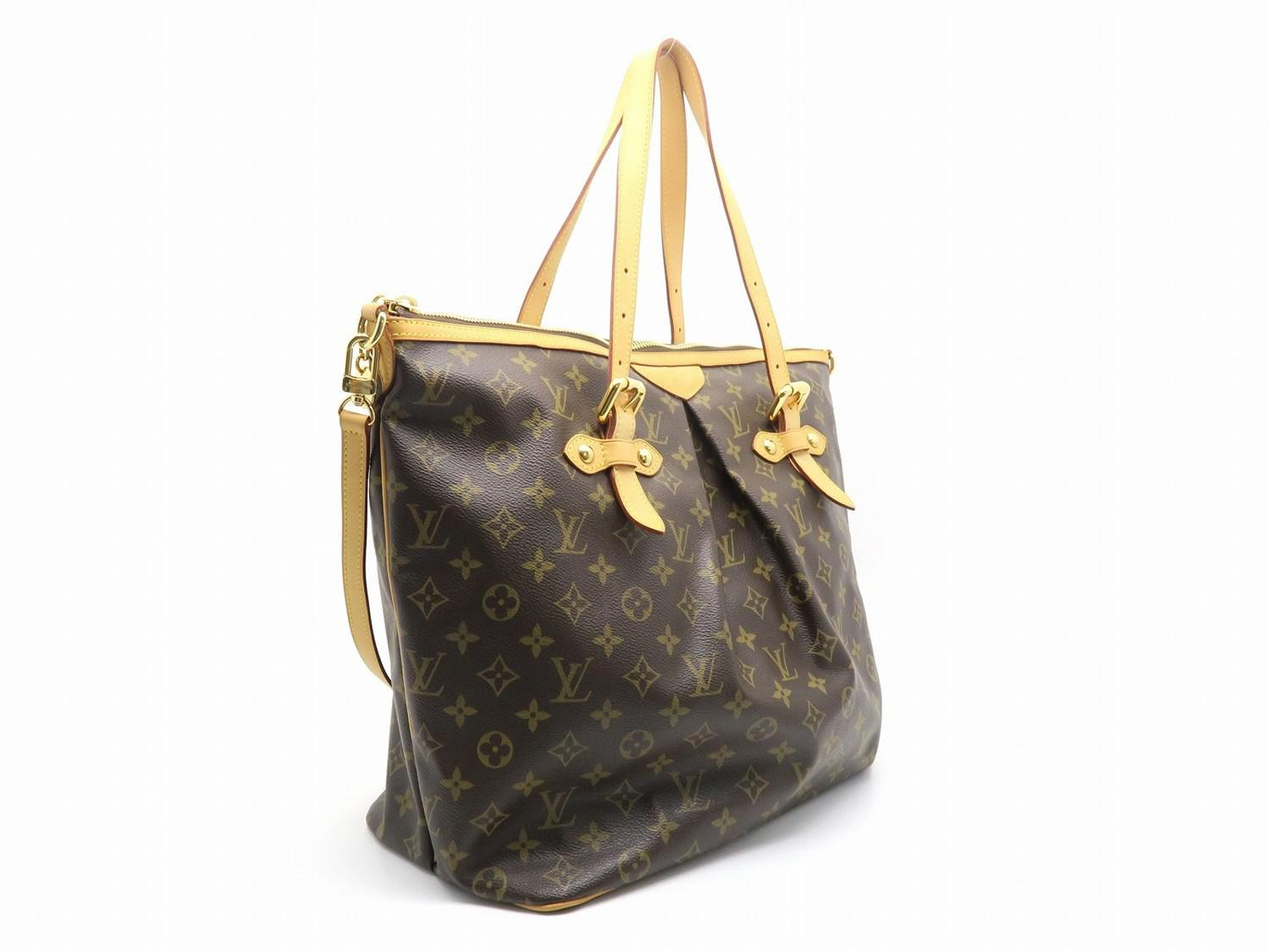 Louis Vuitton Tivoli Vs Palermo Lyst Louis Vuitton Monogram Palermo Gm Shoulder Bag Brown M40146