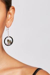 Alexis bittar Crystal Drop Earrings in Metallic | Lyst