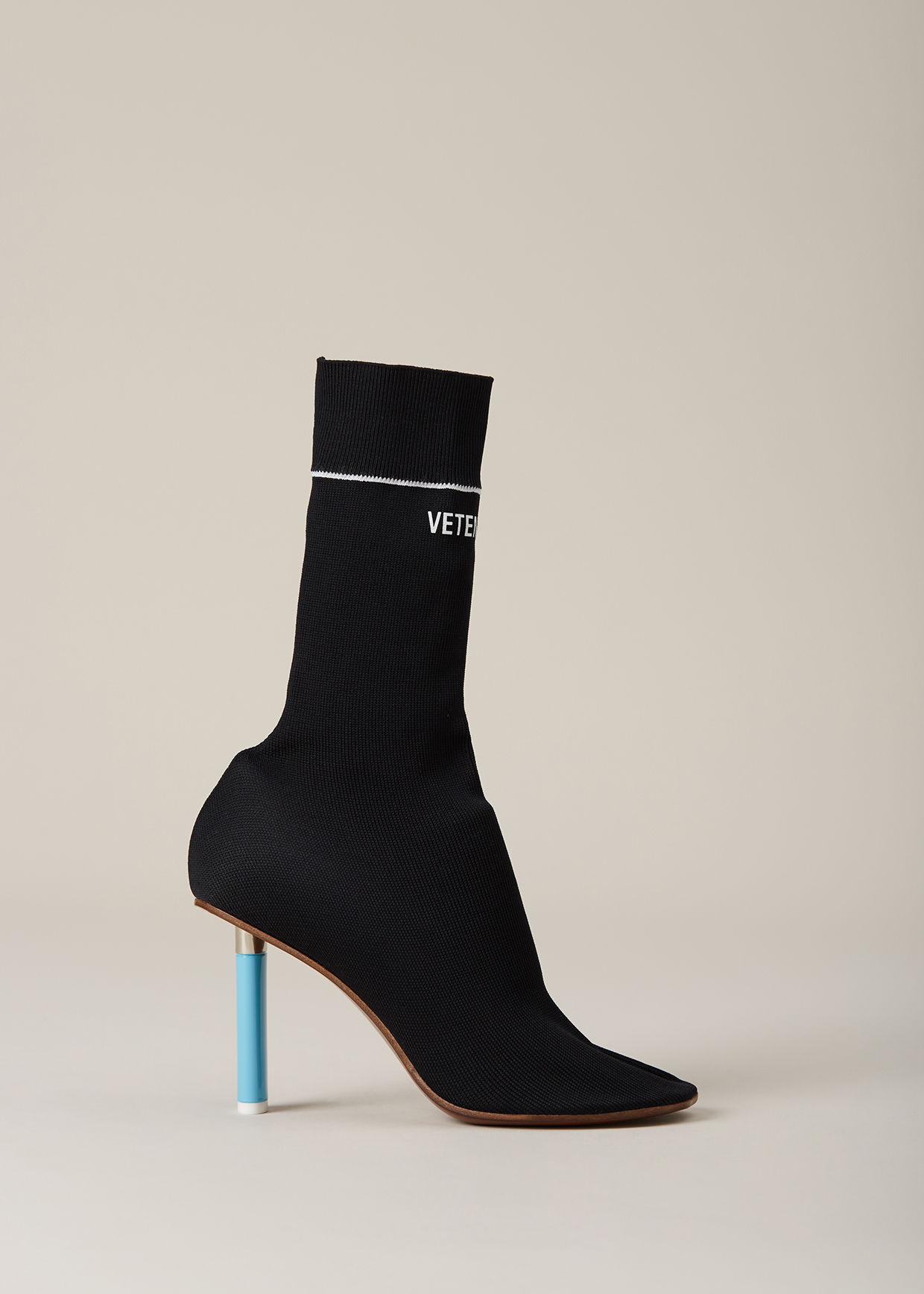 Black Clothing Rack Vetements Sock Ankle Boots In Black | Lyst