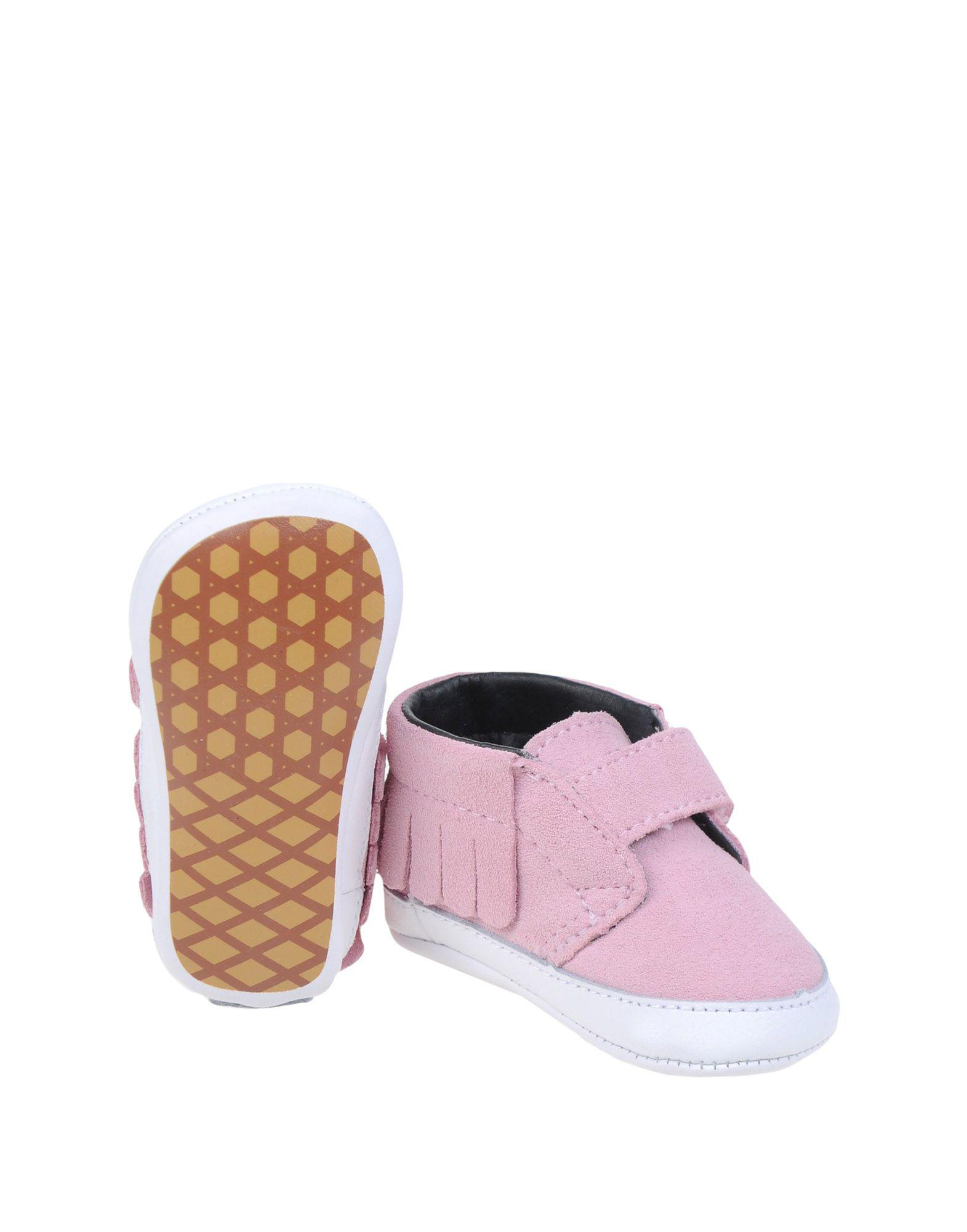 Newborn Shoes Vans Vans Suede Newborn Shoes In Pink Lyst