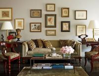 Nina Griscom and Leonel Piraino's Traditional Living Room