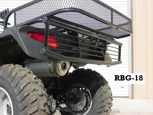 Rbg 18 Brush Buster Bumper Rear For Honda Foreman 500