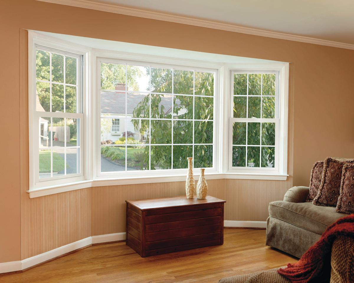 Window Wall Designs Visibly Efficient Simonton Asure Windows Remodeling Windows