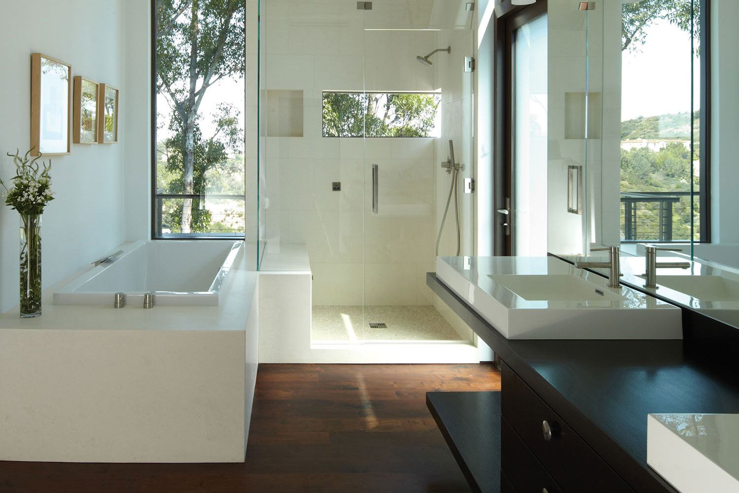 Fliesen Badezimmer Modern Hell A Southern California Bath Delivers A Peak Experience At
