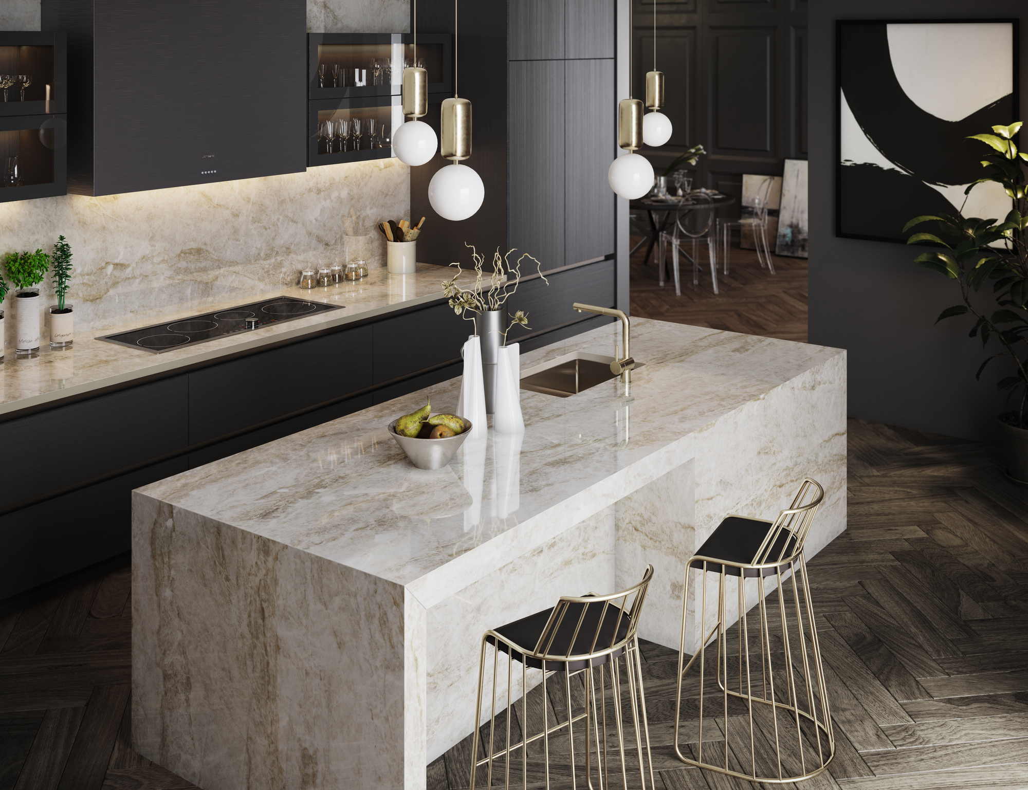 Aspen Quartz Countertop Seven Surfacing Styles For Countertops And Beyond Builder