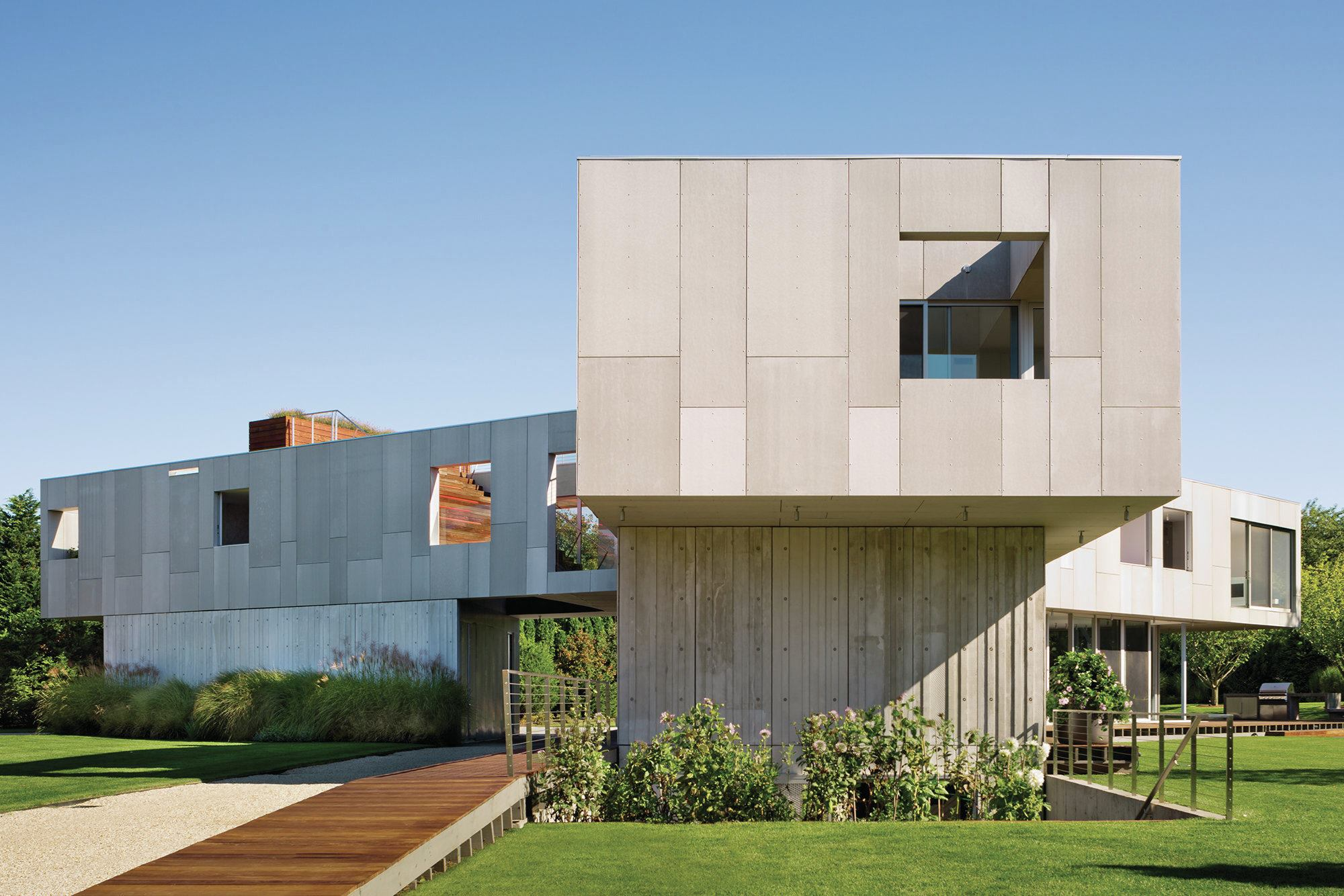 Architectural Design Of Residential Building Concrete Construction Architect Magazine
