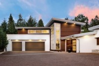 Clopay's Modern Garage Doors Both Shield and Impress ...