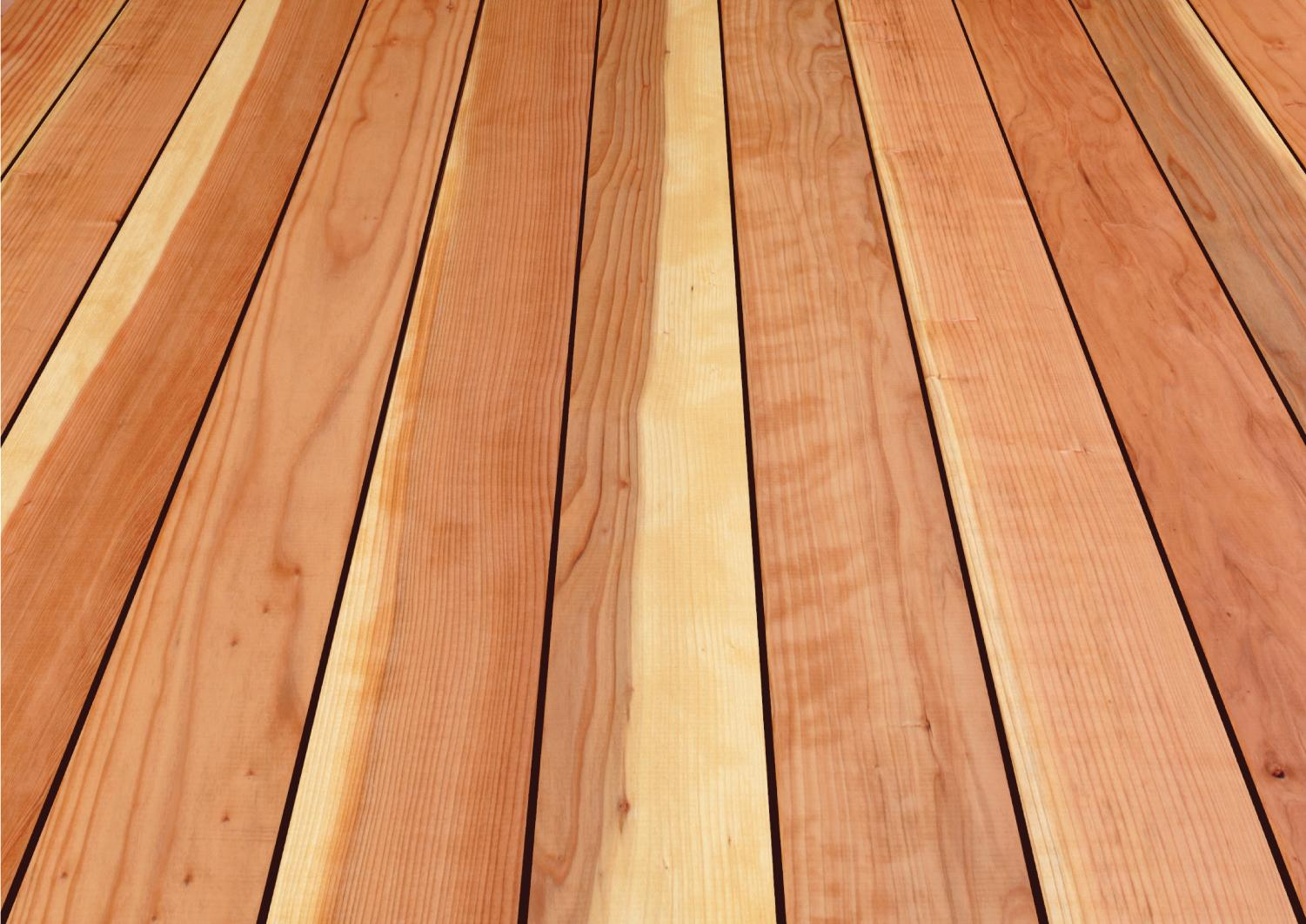 California Redwood Co. Heritage Collection Decking