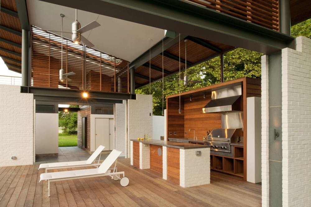 Kitchen Interior Design Online Indoor-outdoor Kitchens | Custom Home Magazine