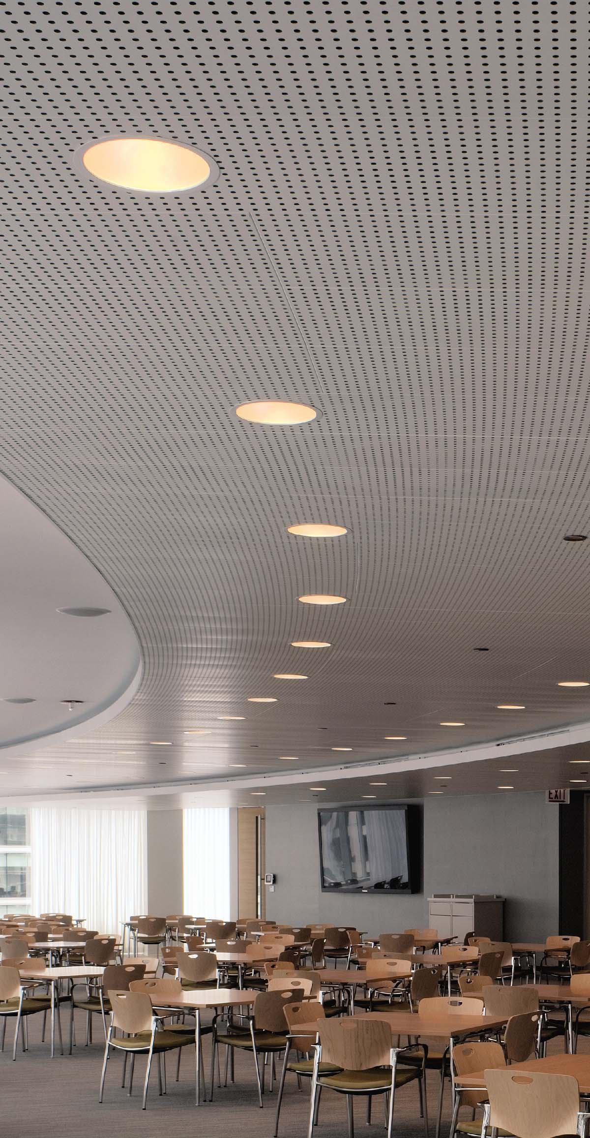 Led Panels Libretto Gridless Metal Ceiling System From Usg