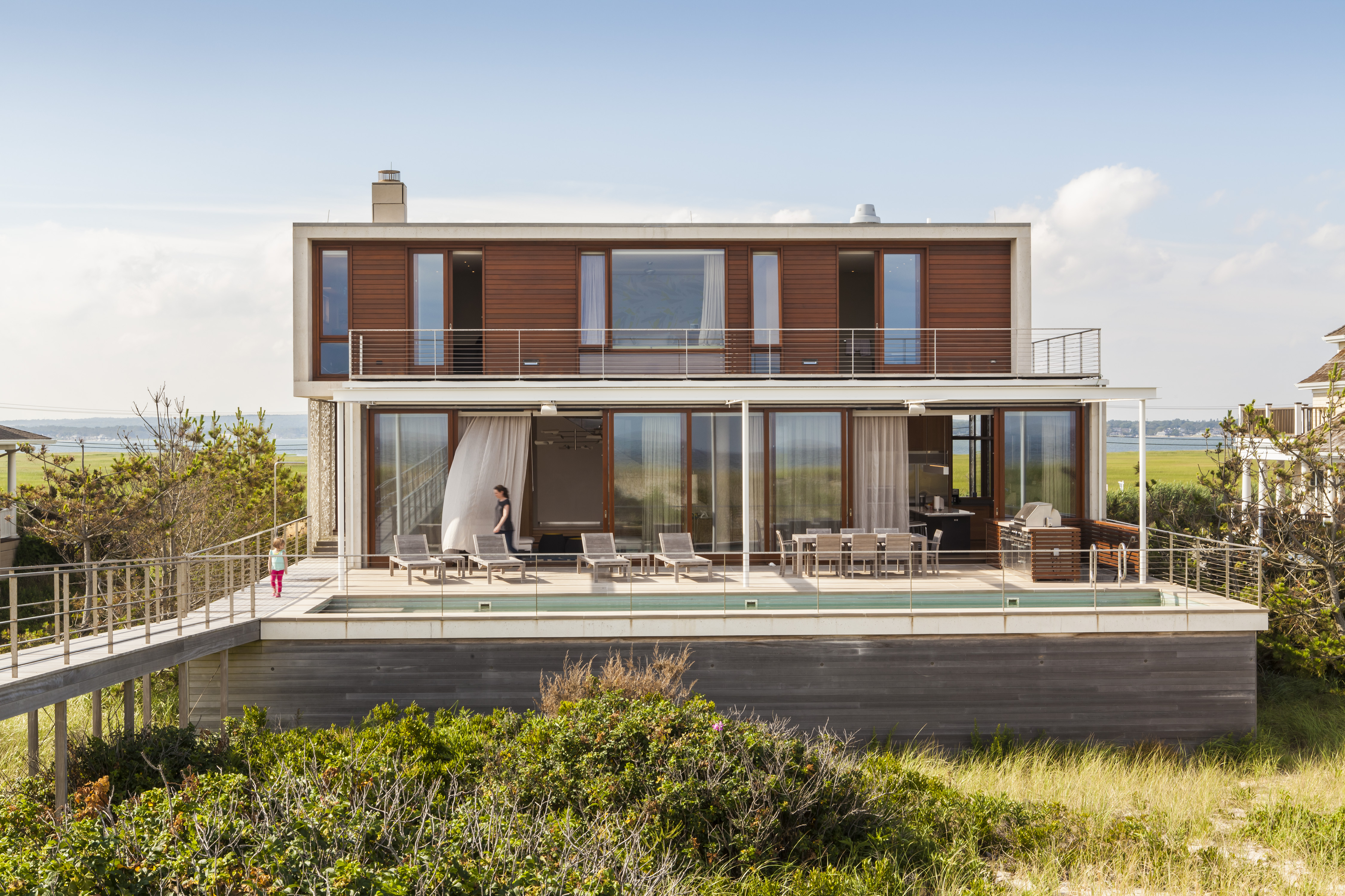 Usa House Design Hamptons Beach House Architect Magazine Aamodt Plumb