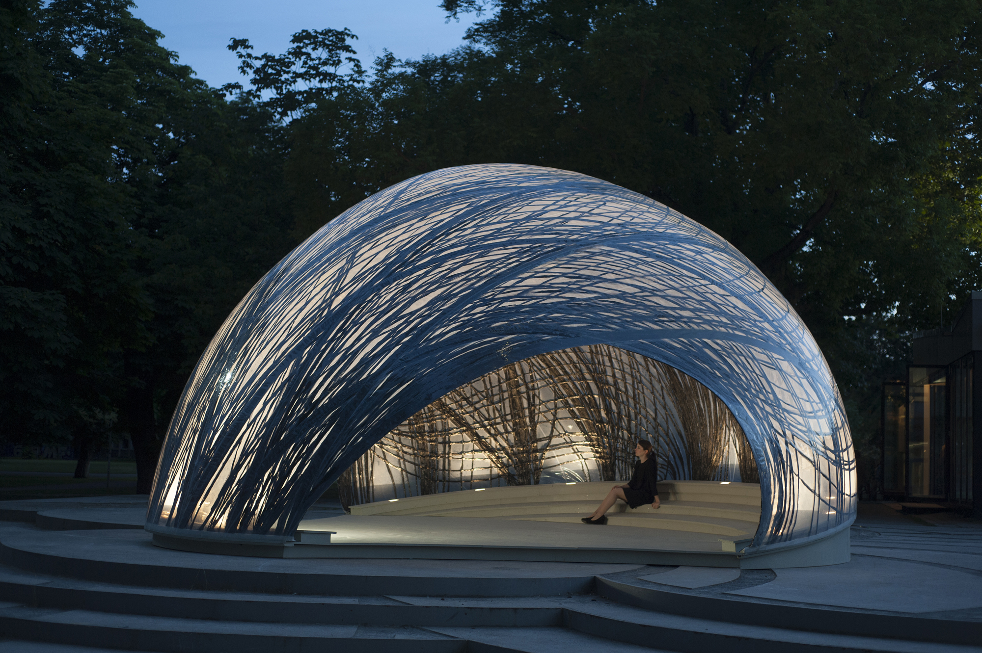Architektur Stuttgart Icd/itke 2014-2015 Research Pavilion | Architect Magazine