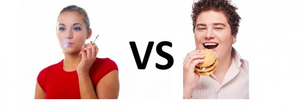 smoke vs diet