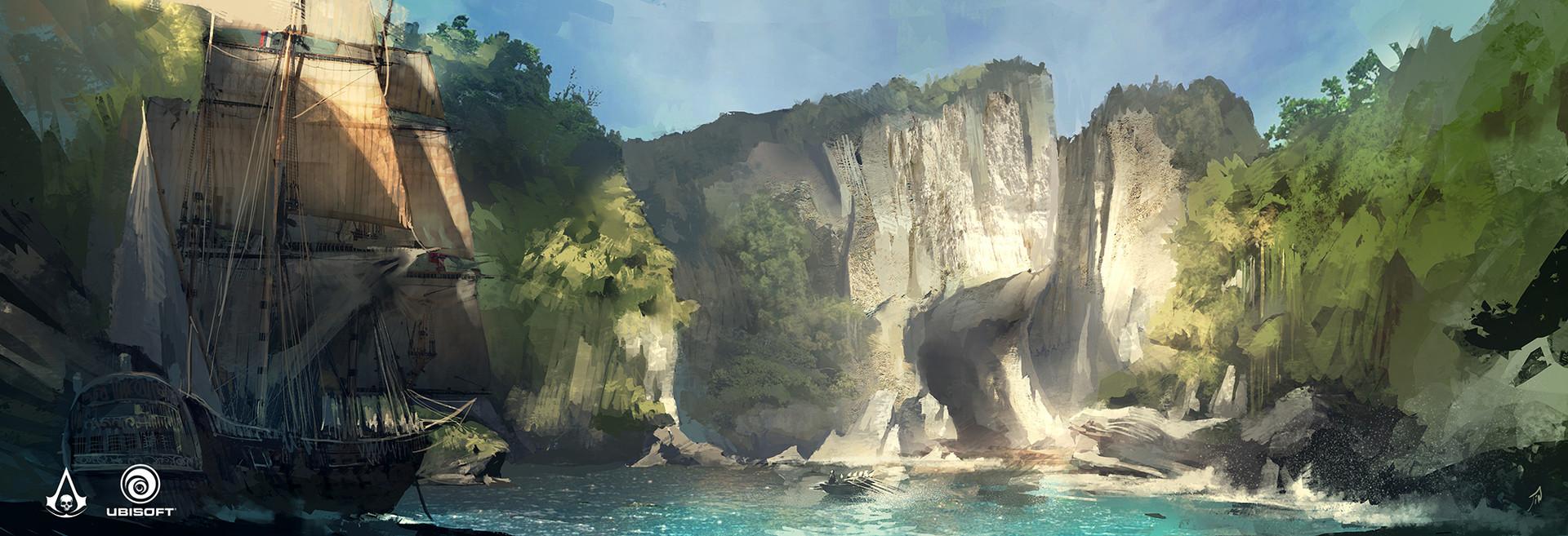 Fall Wallpaper For Facebook Artstation Assassin S Creed Iv Black Flag Cenotes