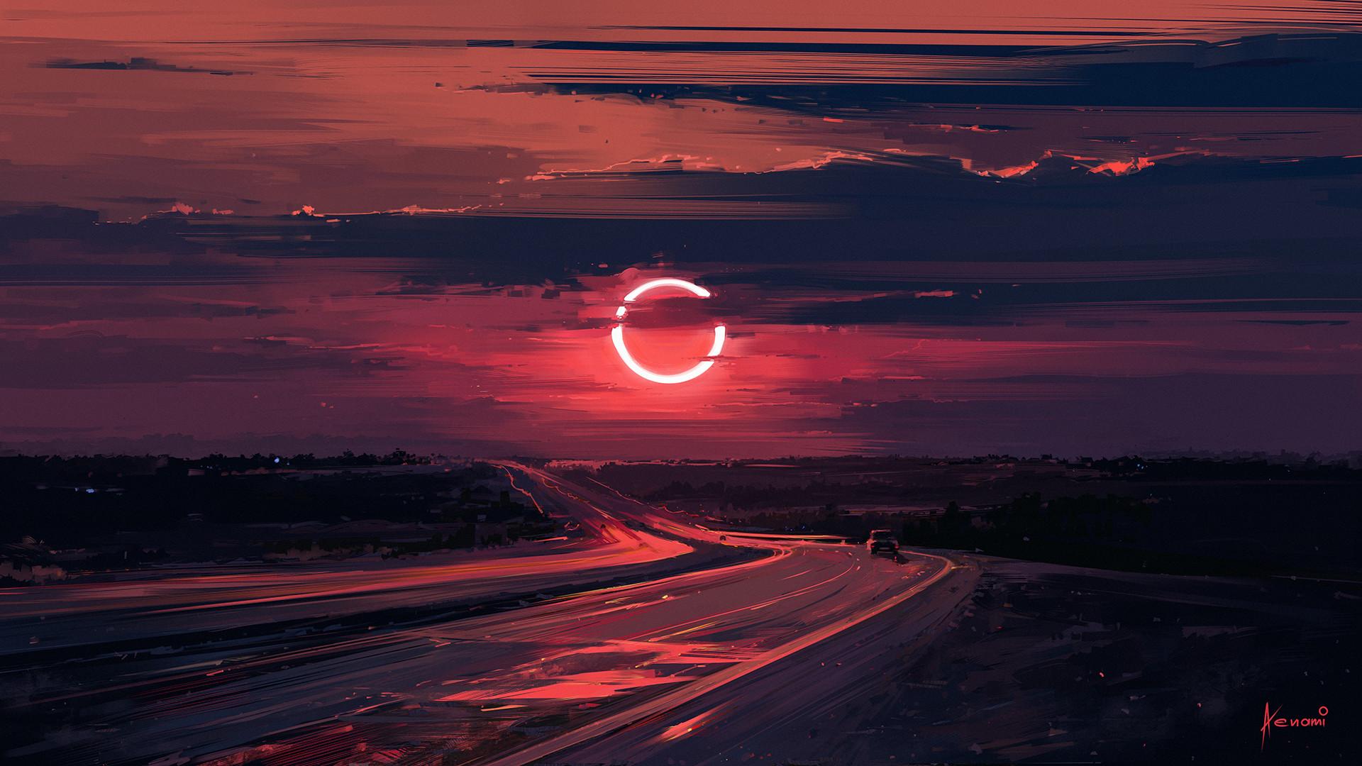 Carbon Wallpaper Iphone X Artstation Eclipse Alena Aenami