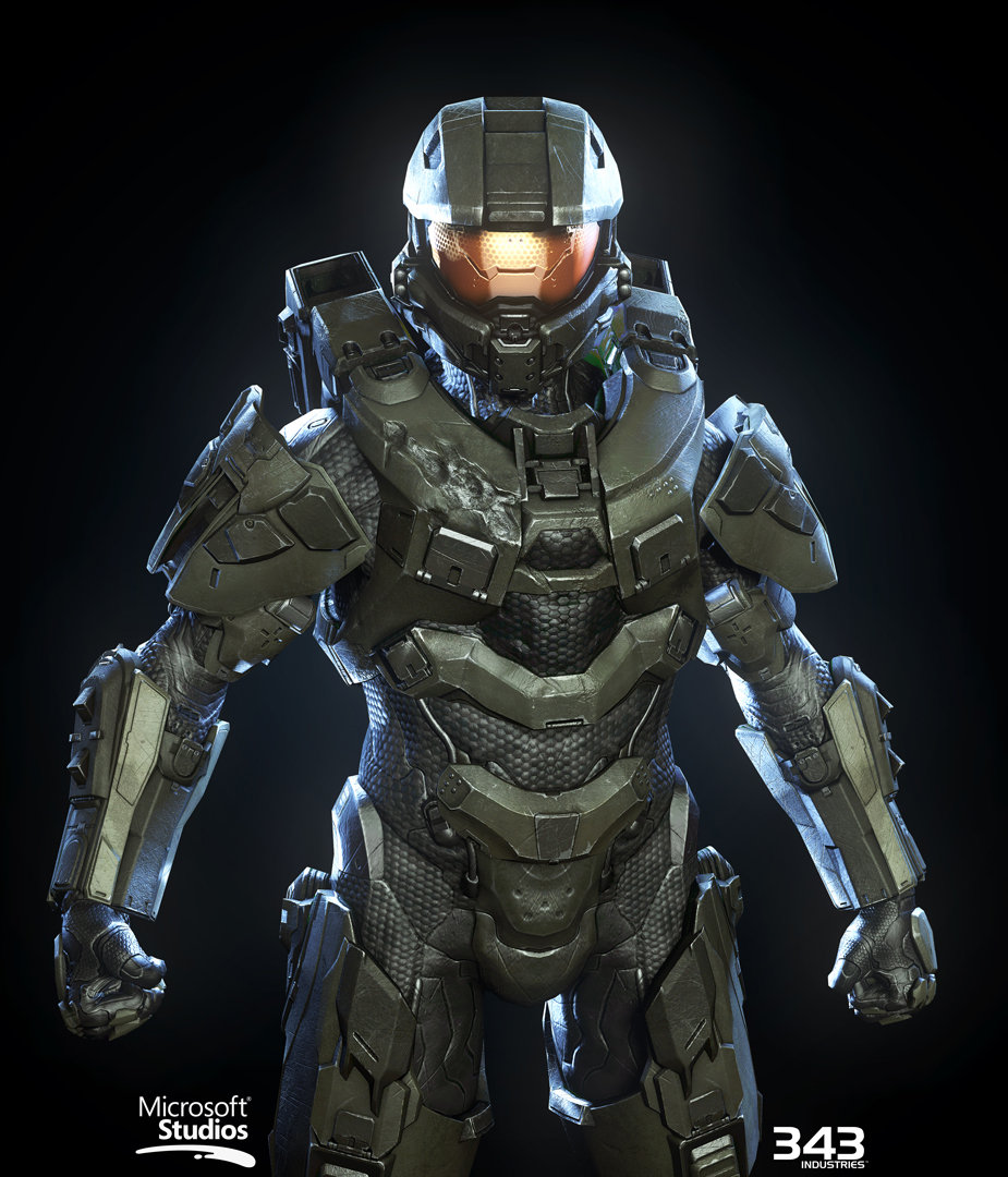 Halo Reach 3d Wallpaper Pc Artstation Halo 4 Master Chief Textures Materials