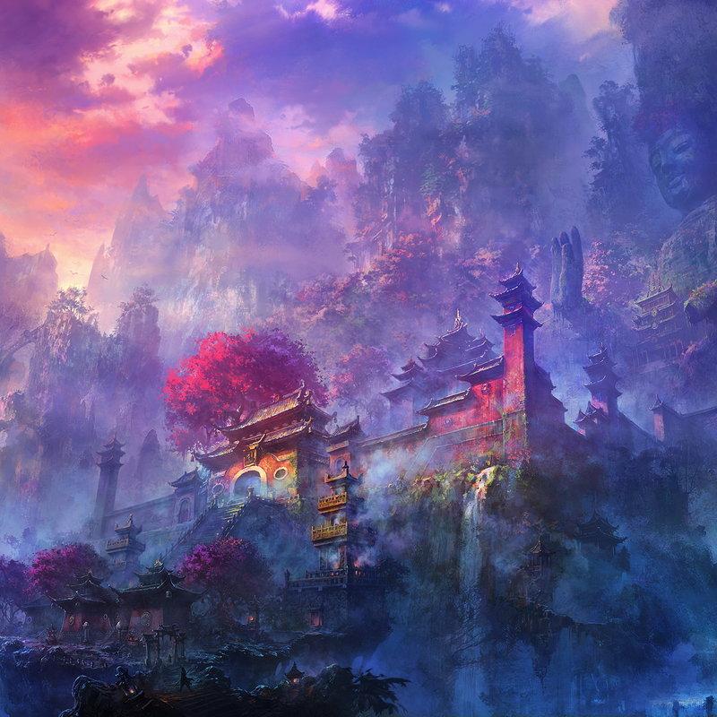 3d Love Hearts Wallpapers Artstation Shaolin Temple Li Shuxing
