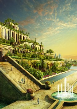Interesting Evgeny Kazantsev Hanging Gardens Babylon Images Now Babylonian Hanging Gardens Images Scroll To See More Artstation Hanging Gardens
