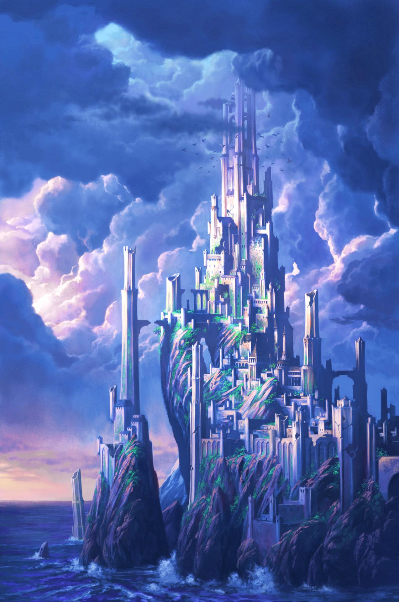 Hunter Wallpaper Hd Artstation Castle Never Chris Dien