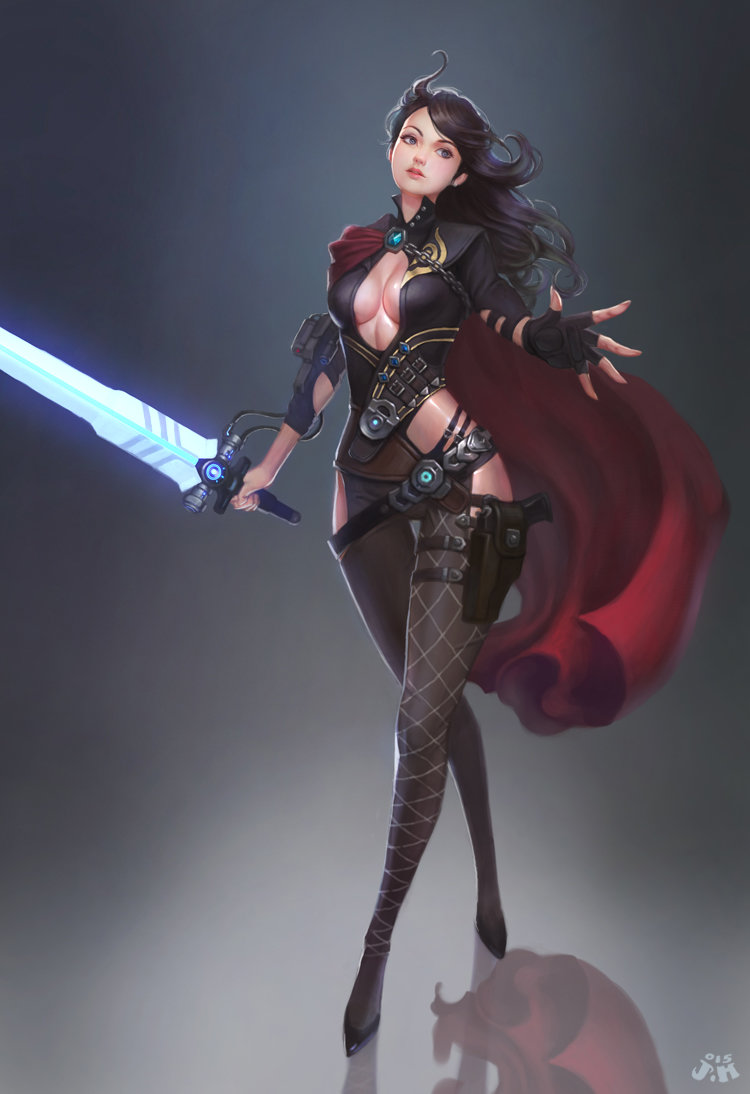Mage Girl Wallpaper Artstation Jedi Girl ㅇㅇ Joo