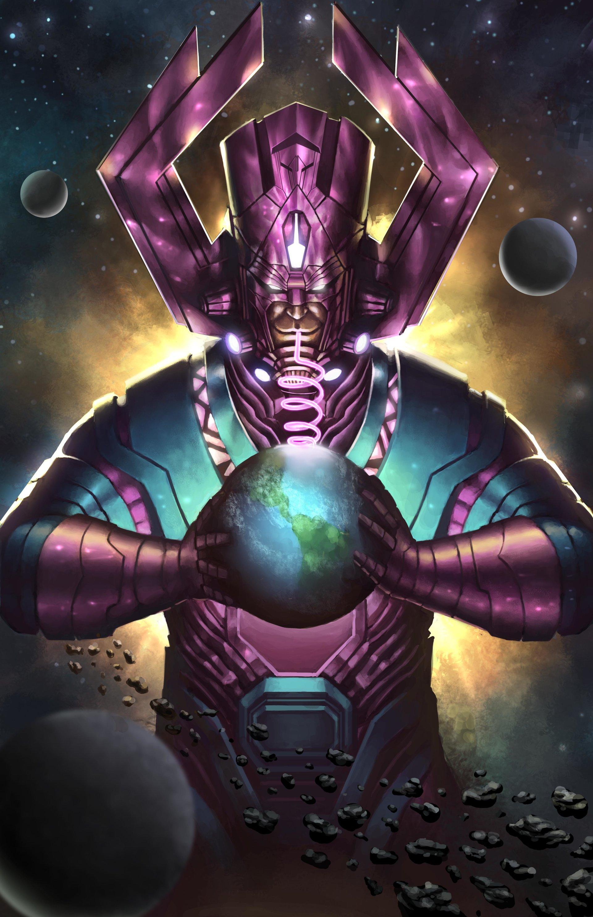 Infinity Sign Wallpaper Hd Artstation Galactus Oliver Morit