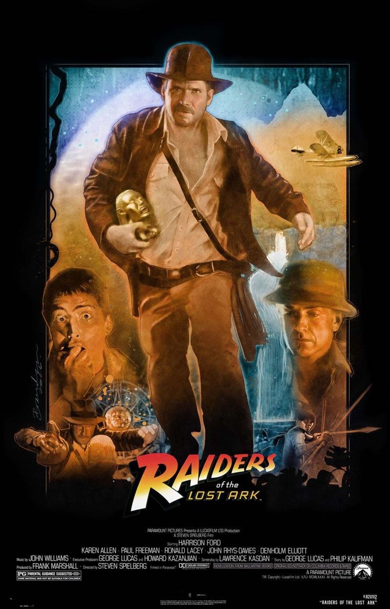 Large Of Raiders Of The Lost Ark Poster
