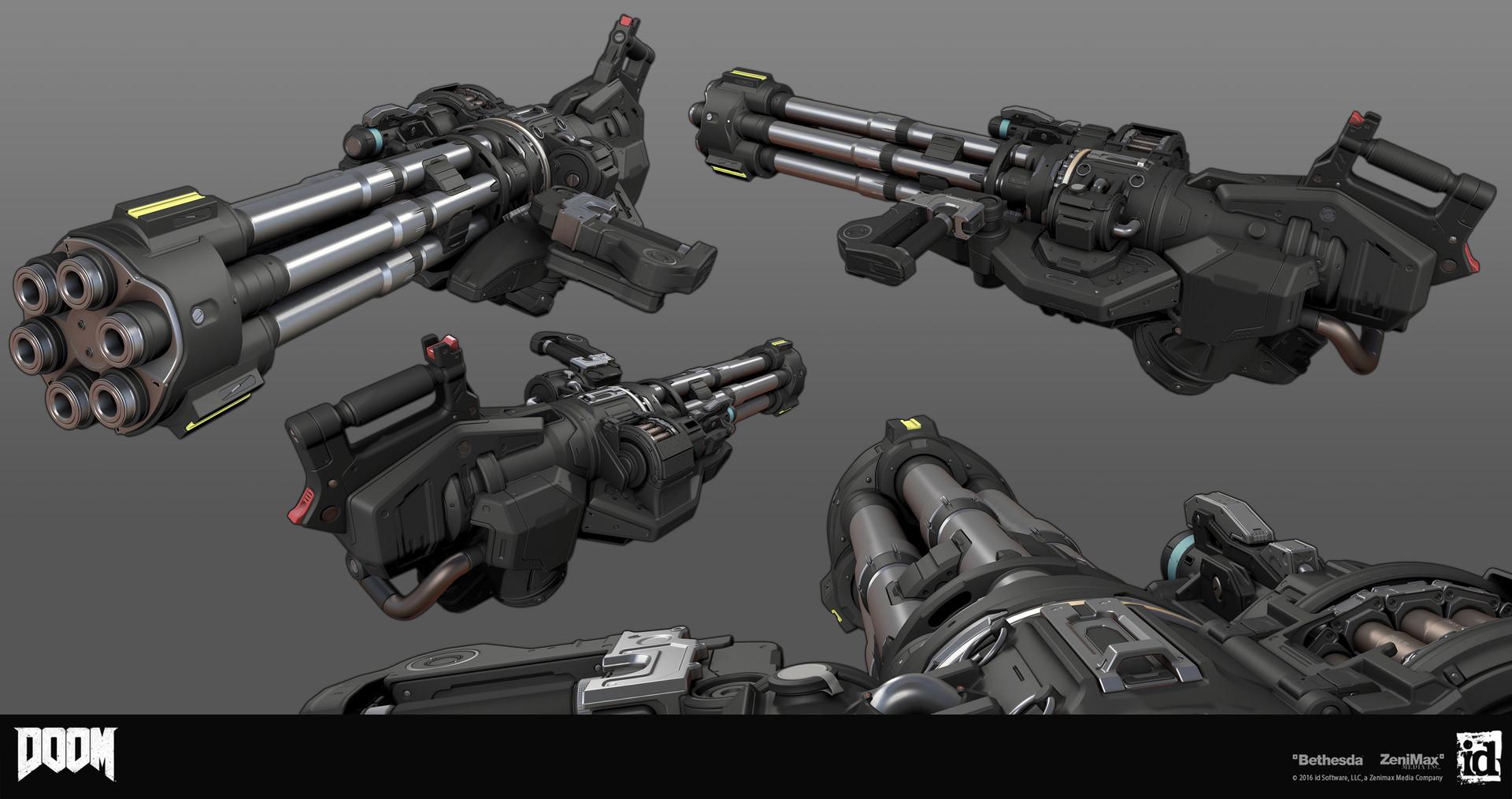 Go Launcher 3d Wallpaper Building Guns For Doom