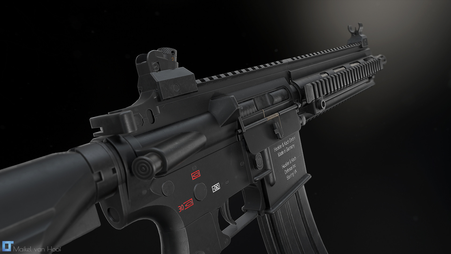 Pubg Gun Wallpapers Hk416 Work In Progress