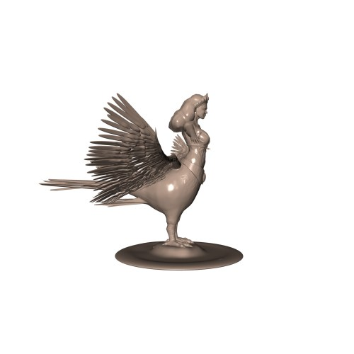 Medium Crop Of Bird Girl Statue