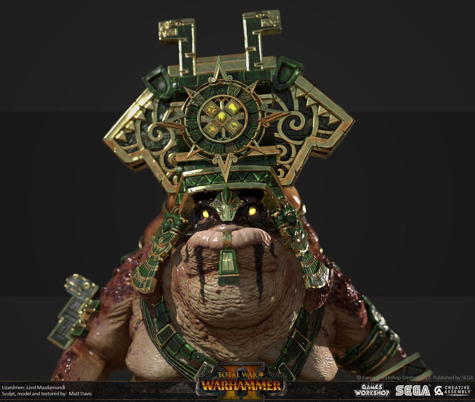 Total War Warhammer Wallpaper Hd Matthew Davis Total War Warhammer 2 Lord Mazdamundi