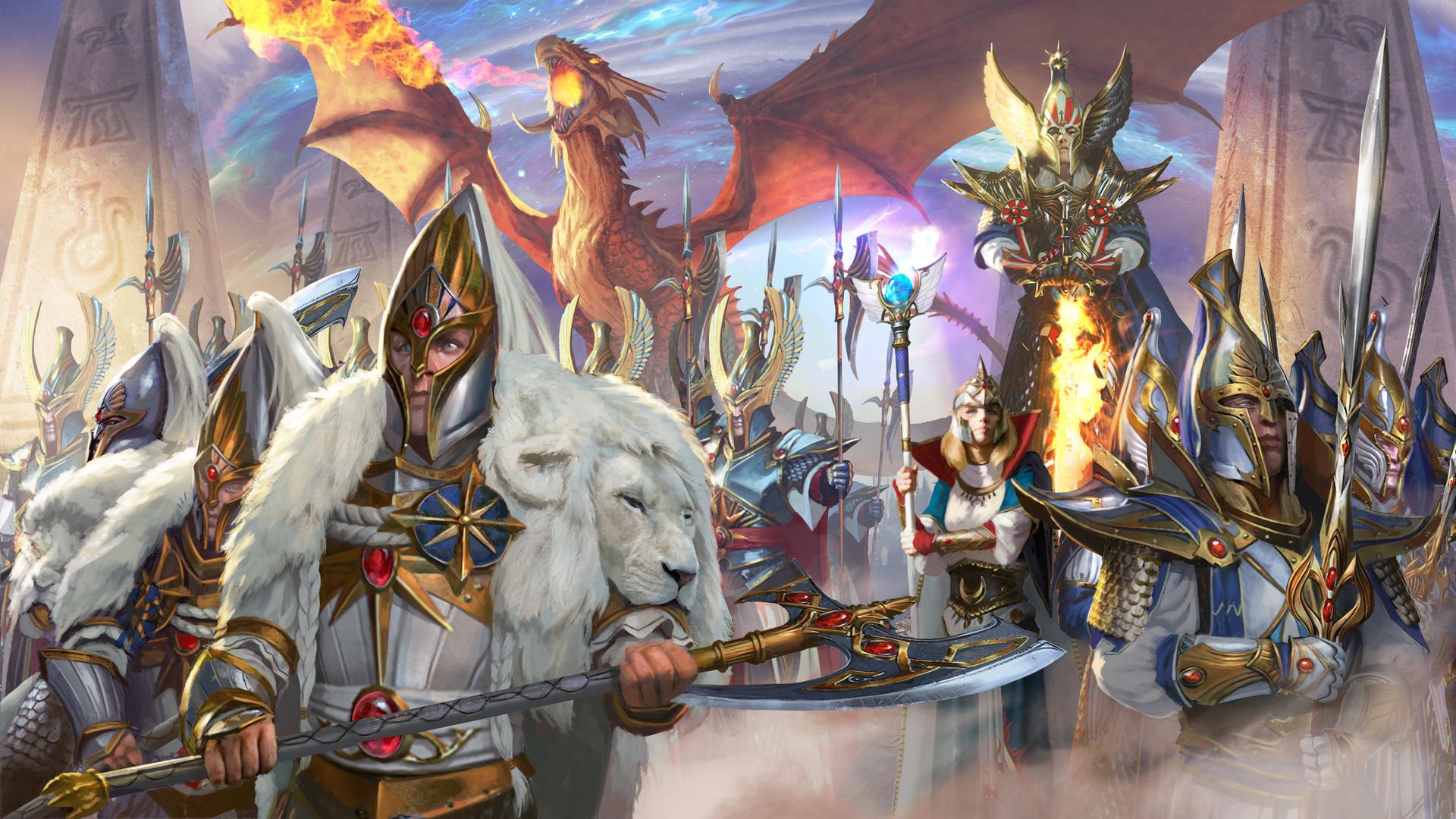 Total War Warhammer Wallpaper Hd Diego Gisbert Llorens Total War Warhammer 2 High Elves