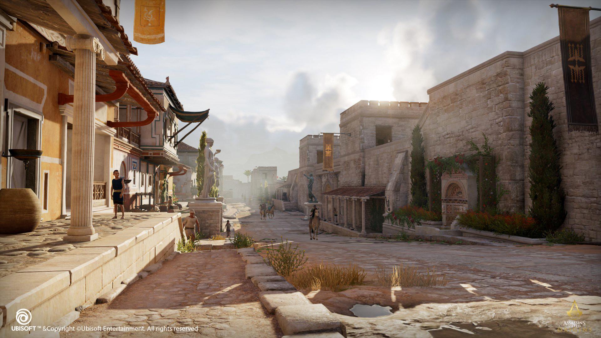 Assassins Creed Wallpaper Hd Artstation Environment Art Assassin S Creed Origins