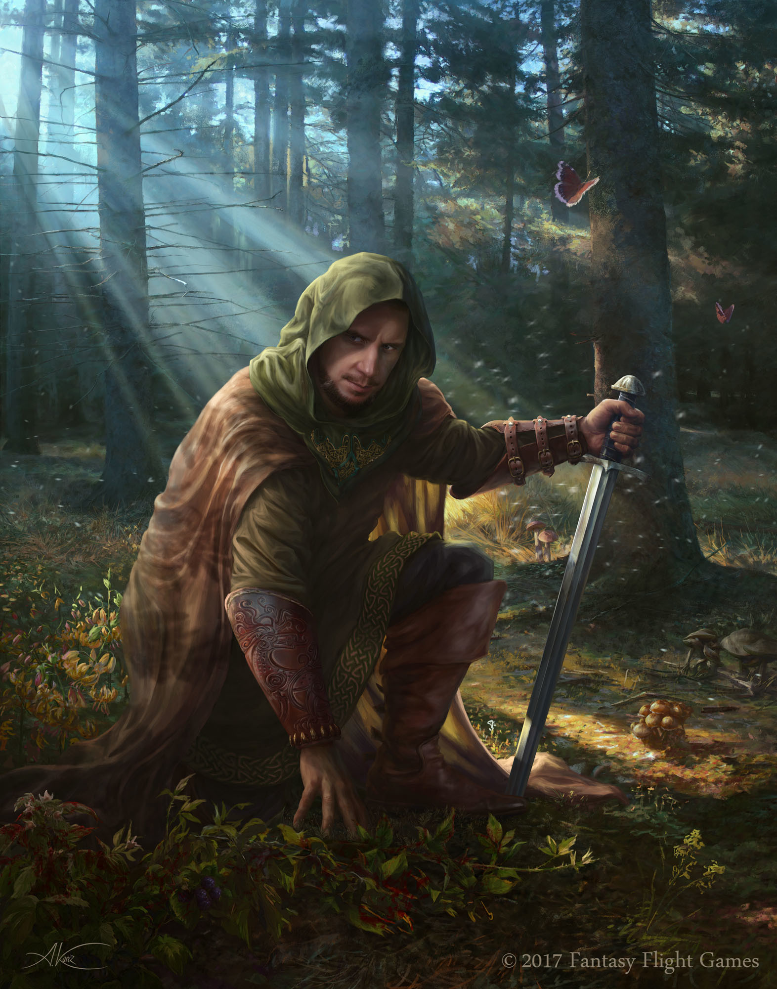 Wallpaper Hd Lord Of The Rings Artstation Dunedain Tracker Aleksander Karcz