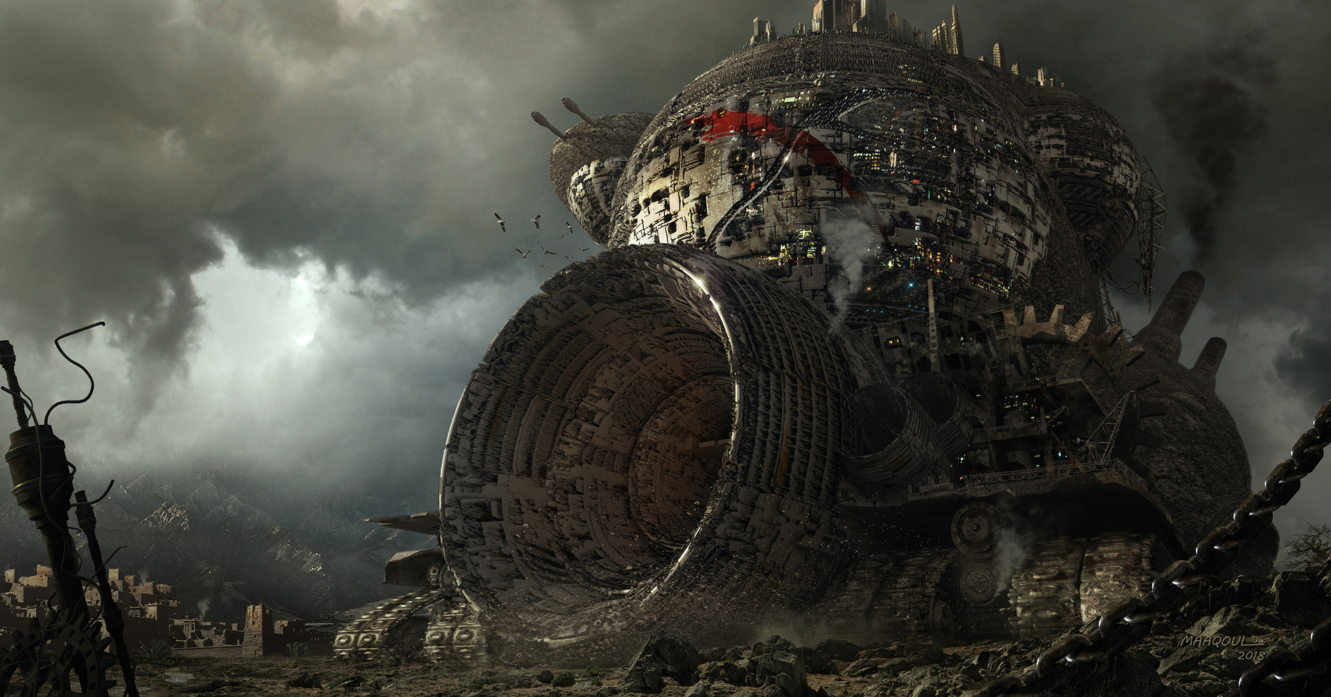 Iphone 4 Live Wallpaper Mortal Engines By Aziz Maaqoul Imaginarycastles